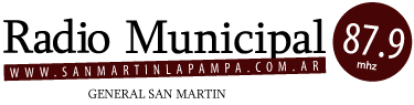 Radio Municial - 87.9 mhz - Gral. San Martin  - La Pampa